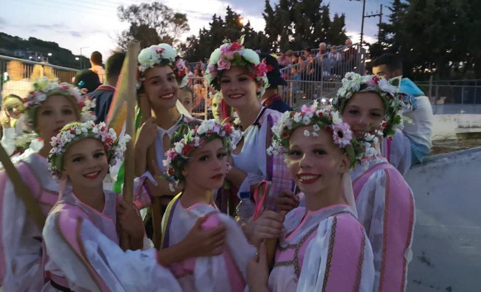 Διεθνές Φεστιβάλ Παραδοσιακού Χορού Ελένη Λιμνιάτη Λουτράκι Κορινθίας