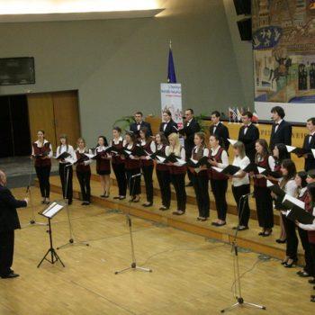 1ο Παγκόσμιο Φεστιβάλ Χορωδιών Μιούζικαλ 8-11 Απριλίου 2011 -Θεσσαλονίκη- Χορωδία Αμερικανικού Κολεγίου του Blagoevgrad Βουλγαρία
