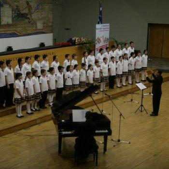 1ο Παγκόσμιο Φεστιβάλ Χορωδιών Μιούζικαλ 8-11 Απριλίου 2011 -Θεσσαλονίκη- Χορωδία του Κολεγίου της Ατάλεια Τουρκία