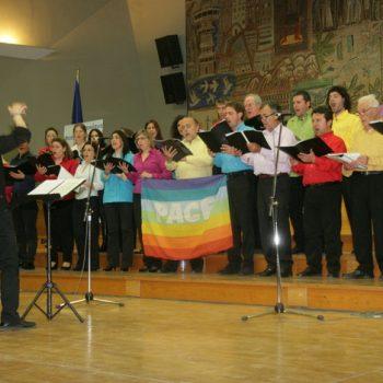 1ο Παγκόσμιο Φεστιβάλ Χορωδιών Μιούζικαλ 8-11 Απριλίου 2011 -Θεσσαλονίκη- Χορωδία Harmony- Ιταλία