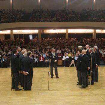1ο Παγκόσμιο Φεστιβάλ Χορωδιών Μιούζικαλ 8-11 Απριλίου 2011 -Θεσσαλονίκη- Χορωδία Lunigiana- Ιταλία