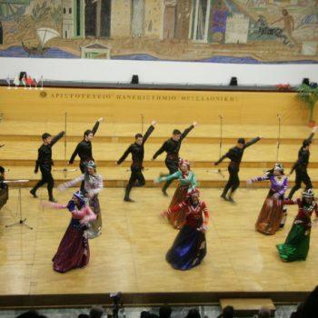 1ο Παγκόσμιο Φεστιβάλ Χορωδιών Μιούζικαλ -2011-Θεσσαλονίκη- Συγκρότημα Ρίζες- Γεωργία