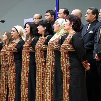 4ο Παγκόσμιο Φεστιβάλ Χορωδιών Μιούζικαλ 25-28 Απριλίου 2014 -Χορωδία Ahl Al Magna